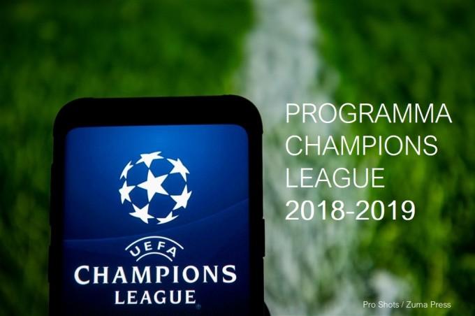 Programma UEFA Champions League: speelschema wedstrijden ...